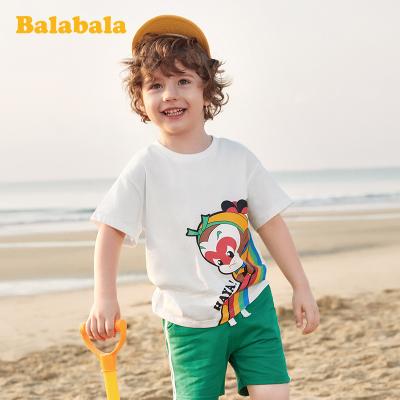 【大鬧天宮IP款】巴拉巴拉男童短袖T恤兒童寶寶上衣2020新款夏裝