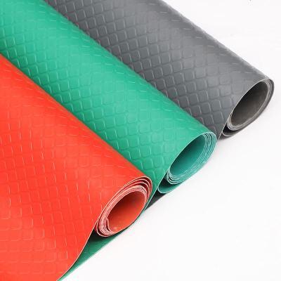 2米寬*3米長【整卷】 人字紋--紅色房地墊可擦口塑料地毯進免洗防水商用鋪地防滑地板墊子 定制