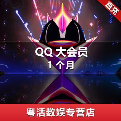 腾讯QQ大会员 QQ大会员一个月 QQ大会员1个月 qq超级会员 qq豪华黄钻 自动充值 粤活充值
