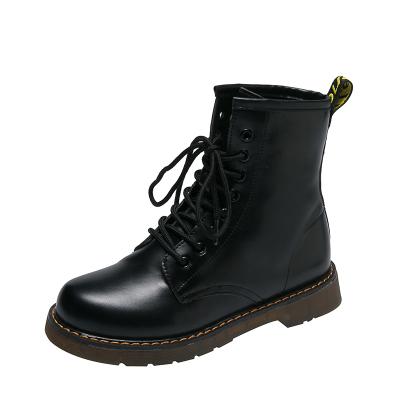 九形道(JIUXINGDAO) 2020秋季新款ins馬丁靴女復古英倫百搭chic機車短靴子