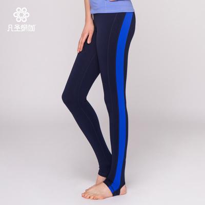 凡圣瑜伽服春夏瑜珈美体活力踩脚长裤女士运动瑜伽健身裤F06925
