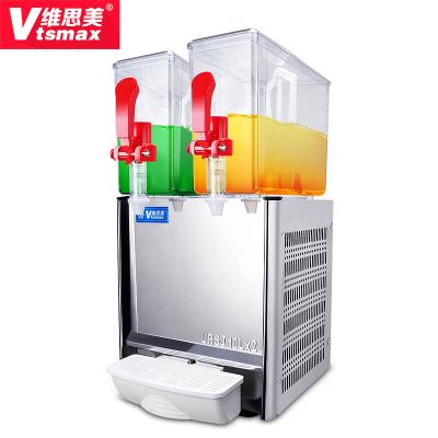 維思美LSJ-10*2冷飲機 雙缸果汁機商用飲料機攪拌機奶茶機