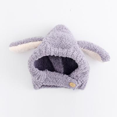 抹炫(MOXUAN)宝宝护耳帽冬款婴儿耳朵帽子婴幼儿可爱韩国0-12个月1-3岁男女童