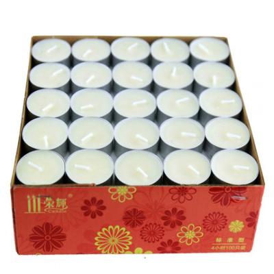 灯香薰炉花茶壶小时煮专用熏香养生腊家用小白工具香薰蜡烛 4小时100只白色-标准型