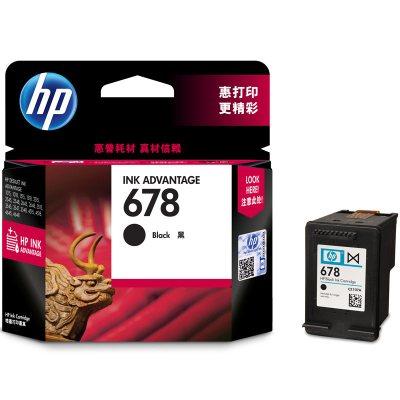 惠普(HP)CZ107AA 678黑色墨盒(适用HP Deskjet1018/2515/1518/4648/3515)