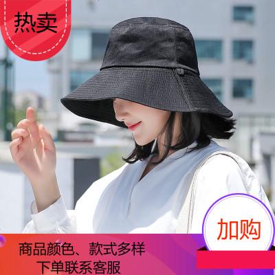 港風文藝雙夏天遮防曬百搭黑