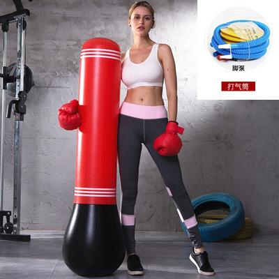 健身儿童充气立式拳击柱不倒翁充气沙袋泄愤玩具加厚沙包沙袋锻炼