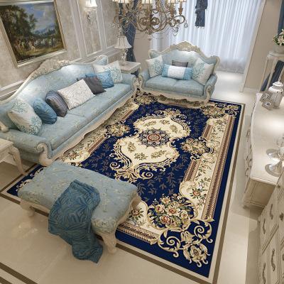 幸福派 地毯歐式美式客廳沙發地墊臥室床邊宮廷家用茶幾墊北歐長方形可定制