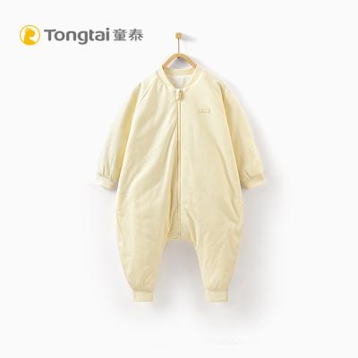童泰2019年新款嬰兒純棉床品用品男女寶寶分腿棉睡袋防踢被