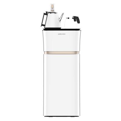 安吉爾(ANGEL)飲水機柜式立式溫熱型下置水桶家用辦公室智能全自動茶吧機CB2717LK-J