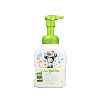 【效期20年11月】美國甘尼克寶貝免洗抗菌寶寶泡沫洗手液護理清潔液安全溫和無香型6個月以上適用 250ml/1瓶裝