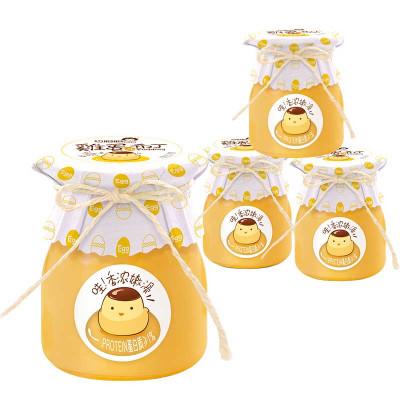 巧妈妈 鸡蛋布丁 118g*4杯装480g 果冻布丁女生下午茶办公室甜品点心礼盒休闲零食儿童布丁零食