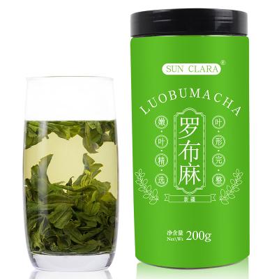 桑克拉(SUN CLARA)羅布麻茶 200g 罐裝 新疆羅布麻新芽嫩芽茶 正品野生新疆羅布麻葉茶