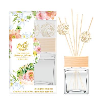 花仙子 古典玫瑰精油熏香家用臥室內持久房間空氣清新劑廁所除臭劑80g 單只裝