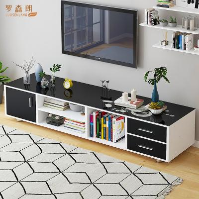 罗森朗 北欧电视柜家用小户型茶几电视柜现代简约卧室经济型地柜客厅柜子