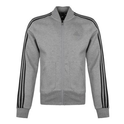 阿迪达斯(adidas)秋季男士EI TT BOMBER针织运动夹克 DM5251