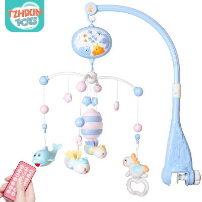 童智欣新生嬰兒床鈴寶寶音樂旋轉床頭搖鈴益智玩具0-3-6-12個月