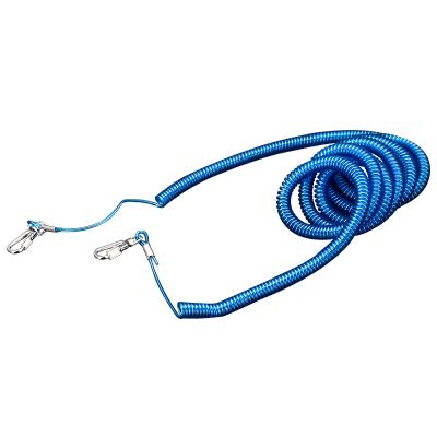 佳钓尼弹簧失手绳护竿绳 放竿绳 钓鱼绳 松紧绳户外垂钓3米20米