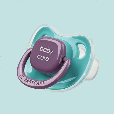 babycare嬰兒安撫奶嘴硅膠超軟新生兒寶寶奶嘴母乳實感仿真奶嘴 潘帕斯-M碼