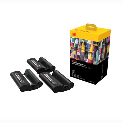 柯达 KODAK PD450W手机照片打印机相纸 120张 含色带 PHC-120