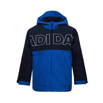 阿迪達斯adidas男童兒童梭織夾克FM9733