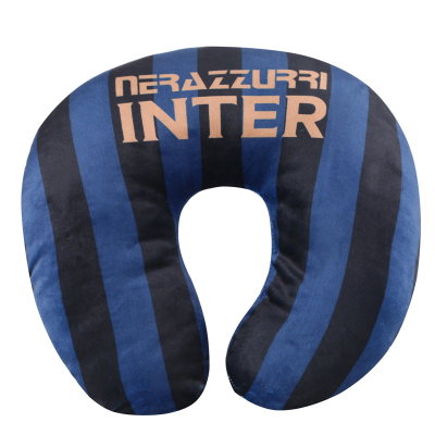 國際米蘭足球俱樂部官方定制居家辦公出行通用舒適柔軟水晶棉U型頸枕