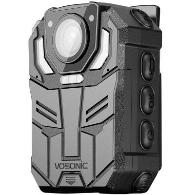 群华(vosonic)D6新款1296P高清红外夜视专业执法记录仪 现场执法仪 随身摄像机 内置 128G