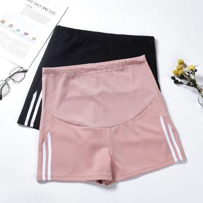 孕婦短褲夏季薄款孕婦褲子外穿時尚寬松休閑運動褲闊腿褲夏裝串得起