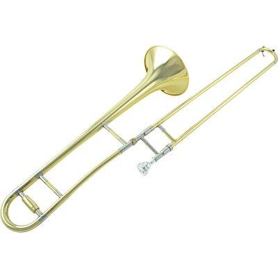 爵士朗JZTB-300G中音降B拉管长号 漆金 专业演奏通用长号乐器