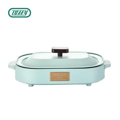 【正常發貨】Toffy BBQ烤盤K-HP1燒烤盤烤肉機電燒烤爐家用無煙電烤盤煎炒烤一體不粘烤肉盤鐵板燒