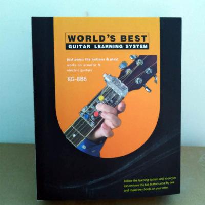 新款初學者一鍵和弦新手懶人神器防痛指套指力器助彈吉他輔助器