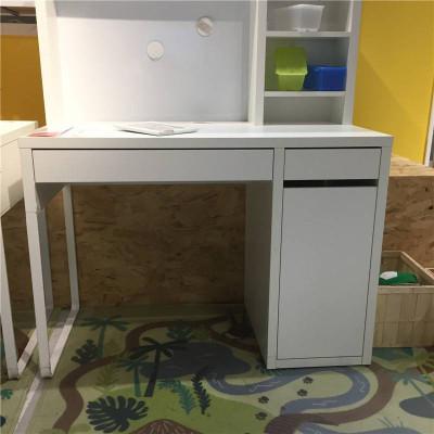 国内米克简易台式电脑桌家用写字台书桌简约现公桌子