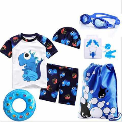 儿童泳衣男童男童泳衣套装男童泳裤儿童泳裤男童儿童 泳衣男套装 莎丞