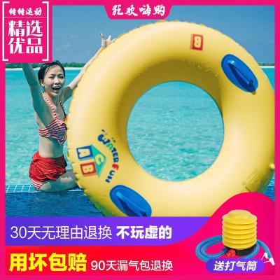 游泳圈成人女加厚加大救生圈兒童充氣腋下圈大人火烈鳥網紅泳圈