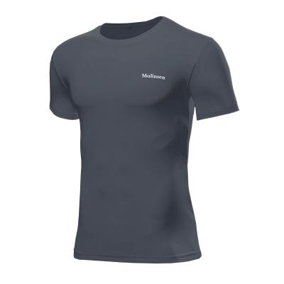 木林森(MULINSEN)男士短袖吸濕排汗速干T恤