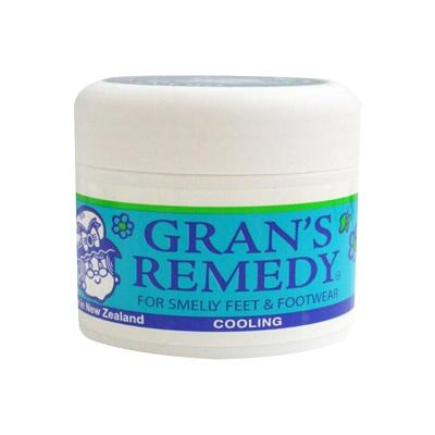 GRAN'S REMEDY 【品牌授權】老奶奶臭腳粉香港腳去膏藥粉 泡粉50g 薄荷味 * 1瓶
