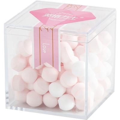 網紅薄荷糖80克潤喉糖 網紅吐息糖約會清口糖接吻糖果花香玫瑰花無蔗糖薄荷糖香體糖君初一心