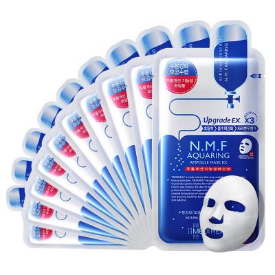 Mediheal 美迪惠尔 N.M.F 针剂水库深层补水 面膜 10片/盒 水润保湿 可莱丝补水升级版