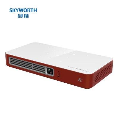 創維(Skyworth)P2投影儀 投影機 家用 便攜(AI語音控制 2+16G大存儲 對稱式音響 兼容4K 內置電池)