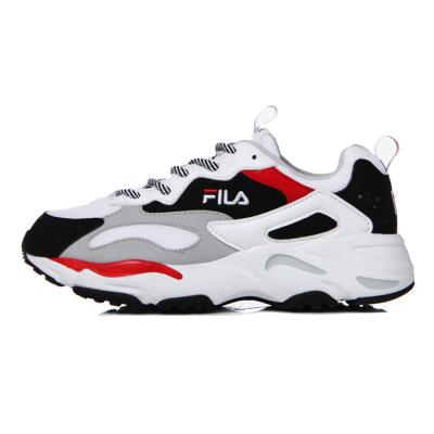 【直营】韩国版 Fila斐乐RAY TRACER系列男女通用情侣鞋复古运动鞋跑步鞋增高鞋老爹鞋
