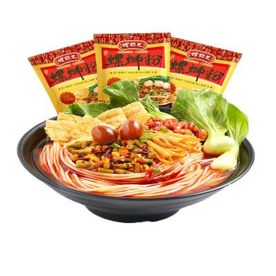 螺霸王水煮螺螄粉280g*3原味柳州螺獅粉螺絲酸辣粉方便面速食