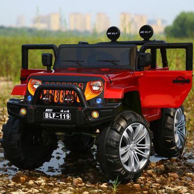 【廠牌直營】新款牧馬人電動車四驅遙控四輪小汽車可坐號越野車兒童玩具車麥希