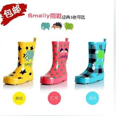 儿童雨鞋 宝宝雨靴卡通 中筒防滑男女童小孩水鞋胶鞋潮