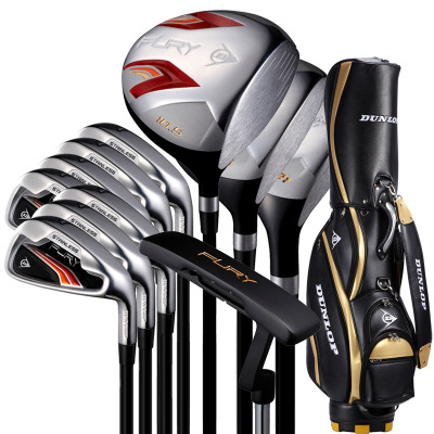 登路普(DUNLOP) 高尔夫球杆 全套 男士套杆 碳素杆身FURY系列 S硬度