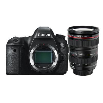 【二手95新】佳能(Canon) 6D EOS全畫幅單反相機 6D +24-105mm IS 紅圈鏡頭【套機】