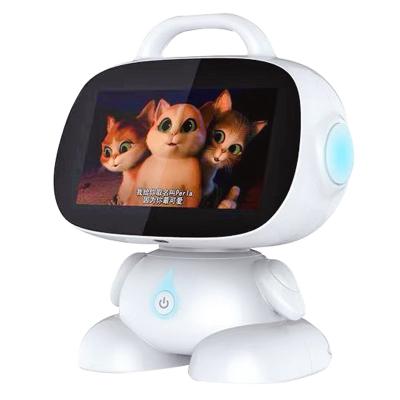 摩樂訊(MOLEXUN)新款智能機器人Q4語音對話學習高科技跳舞陪伴學習早教機wifi人工AI教育充電兒童故事機玩具