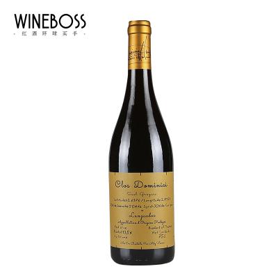 WINEBOSS 法国原装进口红酒法国明星酒庄aoc原瓶进口干红葡萄酒