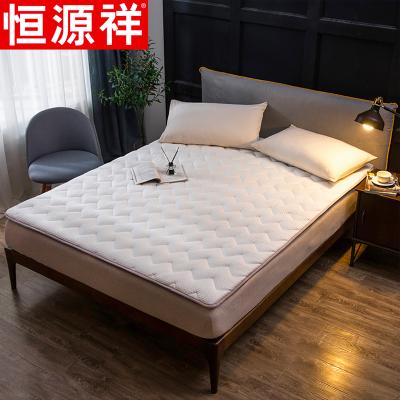 恒源祥家纺加厚榻榻米床垫四季通用韩式风纯色床上用品加厚夹棉防滑床垫儿童学生软床垫