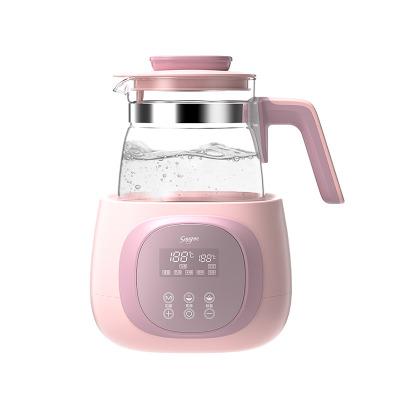 舒氏(SNUG)智能恒温调奶器 婴儿宝宝家用多功能冲泡奶粉机 暖奶器温奶器玻璃水壶1.2LS320II