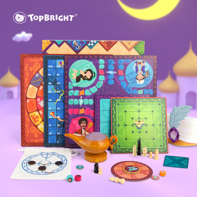 Topbright特寶兒阿拉丁神燈20合1游戲棋120466